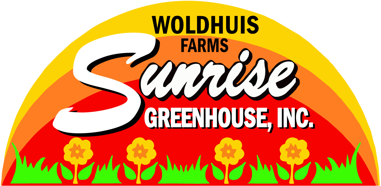 Woldhuids Farms Sunrise Green House Logo
